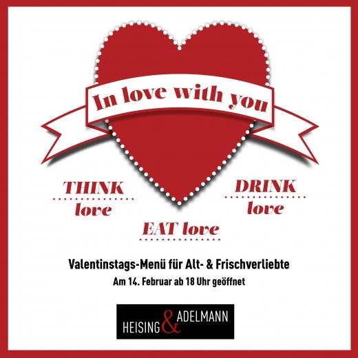 Valentinstag karte pdf
